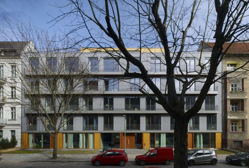 Deutscher holzbaupreis anerkennung neubau for Mehrfamilienhaus berlin